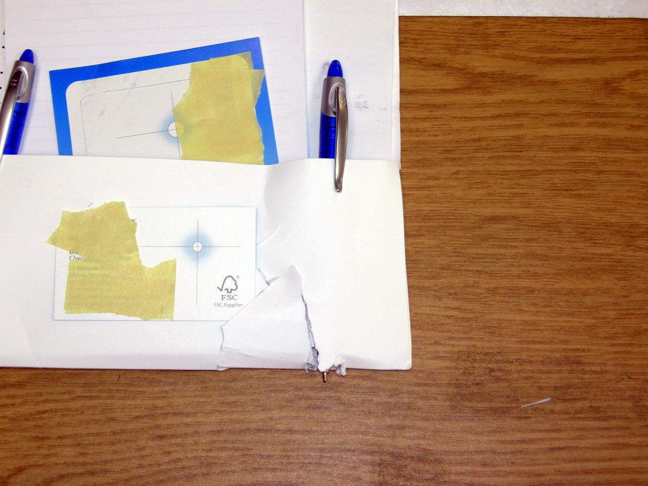 Expensive mailing arrives damaged
