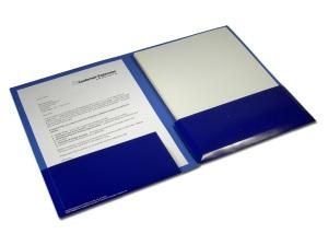 "Conformer presentation folder, 3/4"" capacity"