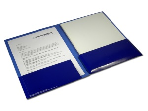 "Conformer presentation folder, 3/4"" capacity"