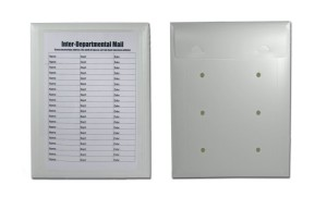 Conformer Milk Jug Plastic interoffice envelope prototype